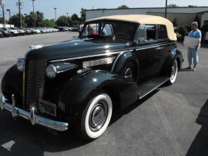 Jack Frank's 1937 Special Phaeton